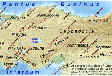 Kutsal Kitaptaki Haritalar